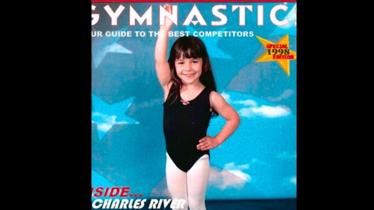Raisman started gymnastics around age 2.