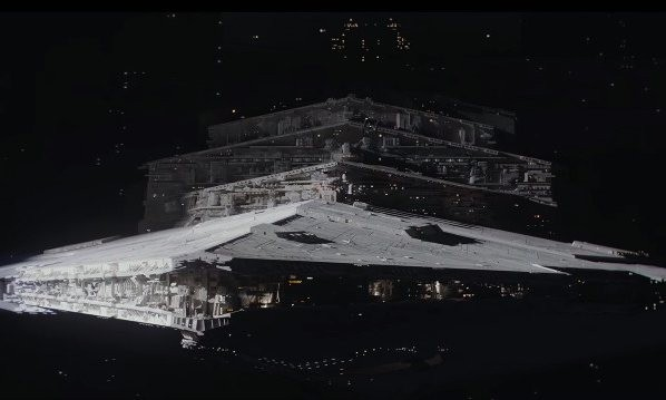 Do Star Destroyers have Star Trek-style cloaking devices?