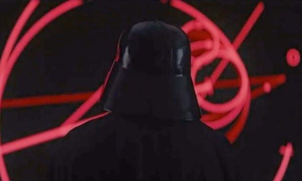 Vader's back
