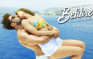 Ranveer Singh, Vaani Kapoor and their passionate kiss on Befikre poster