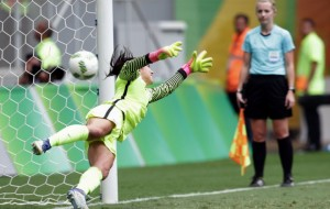 After U.S. Defeat, Goalie Hope Solo Calls The Swedes 'Cowards'