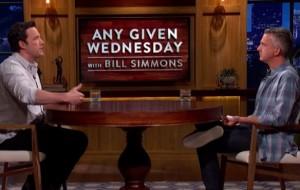 Ben Affleck swears, slurs in lively Deflategate rant, Bill Simmons Show, Ben Affleck First Guest