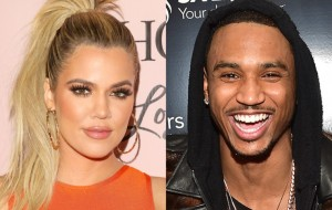 """Khloe Kardashian and Trey Songz Seen """"Making Out"""" During Late Night in Las Vegas"""