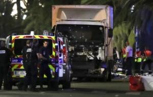 Nice, France, truck attack kills 80, 100 Injuired, Police Shot Driver