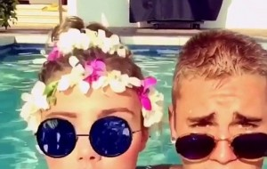 Inside Justin Bieber's wet and wild Hawaii trip: Skinny dipping with topless models, cosy pool time and bikini waterfights at $10k-a-night mansion