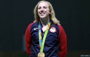Team USA Shooter Virginia Thrasher Wins First Gold Medal Of Rio Olympic Games