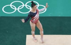 Aly Raisman's Amazing Olympics Floor Routine Is Going Viral