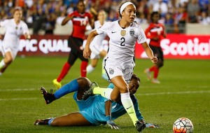Colorado's Mallory Pugh becomes youngest American to score Olympics goal