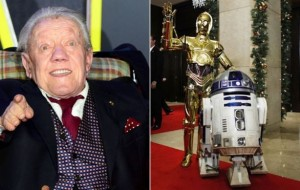 Lucas and Hamill lead tributes to Kenny Baker, Star Wars R2-D2 actor