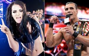 Alberto Del Rio, Paige Suspended by WWE
